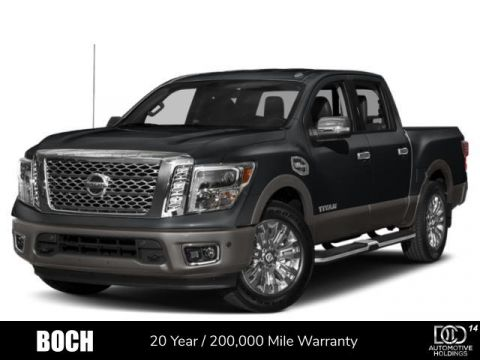 New 2019 Nissan Titan 4x4 Crew Cab SL With Navigation & 4WD