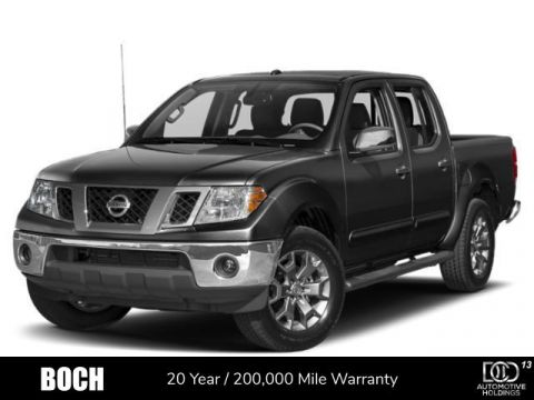 2019 Nissan Frontier Crew Cab 4x4 SV Auto Long Bed