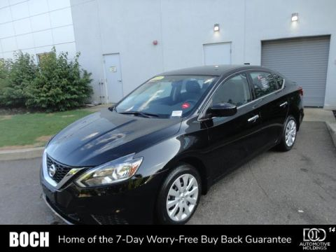 Certified Pre-Owned 2019 Nissan Sentra S CVT FWD 4dr Car