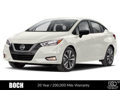 New 2020 Nissan Versa S Manual FWD 4dr Car