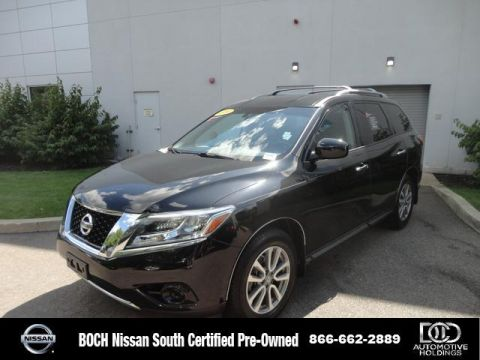 Certified Pre-Owned 2016 Nissan Pathfinder 4WD 4dr S 4WD