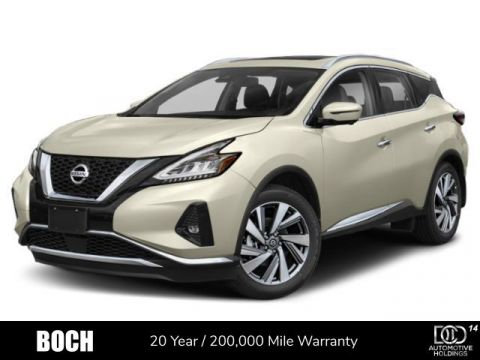 New 2020 Nissan Murano AWD SL With Navigation & AWD