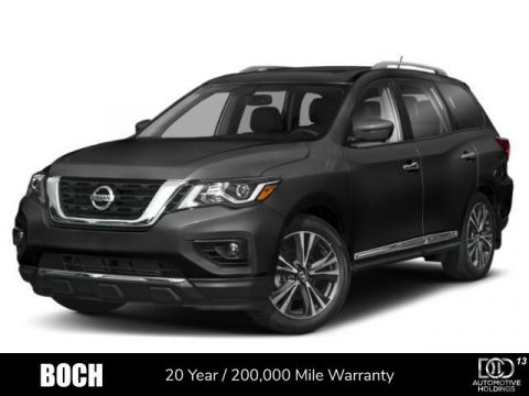New 2019 Nissan Pathfinder 4x4 Platinum With Navigation & 4WD
